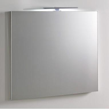 Miroir avec applique LED H800 x L700 Boutique Pro Carea Sanitaire