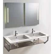 Plan Elegance 140x50 Double Vasque