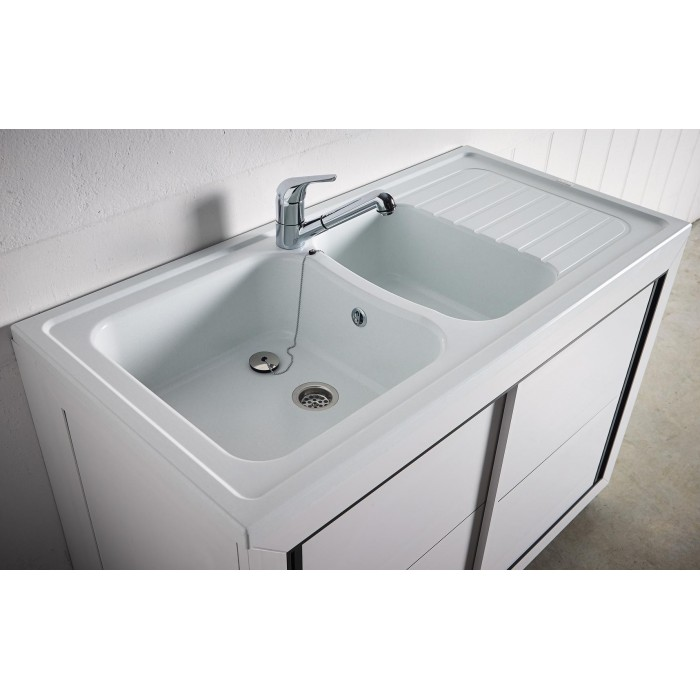 Composite normandie 1200 x 600 mm boutique pro carea for Portes coulissantes salle de bain