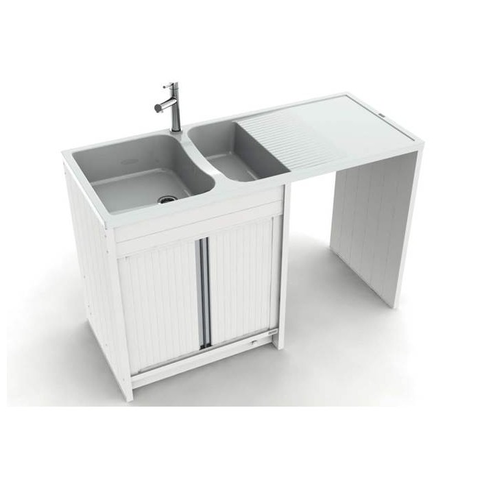 Composite giga 1400 x 600 mm boutique pro carea sanitaire for Meuble 1 porte coulissante